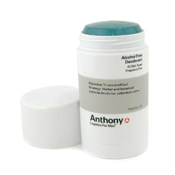 Anthony Logistics for Men Anthony Logistics for Men Alcohol-Free Deodorant, Fragrance Free, 2.5 Ounce