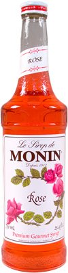 Monin rose syrup 750 ml 738337056734 - Rosehip syrup health benefits ...