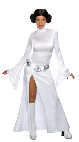 Princess Leia White Dress Xs Adult Womens Costume