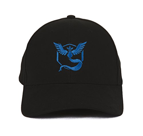 88daecb40e8 Pokemon Go inspired hat - team mystic - blue team