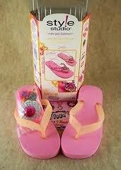 Style Studio 30-3987 Sassy Wrap Flips S/M