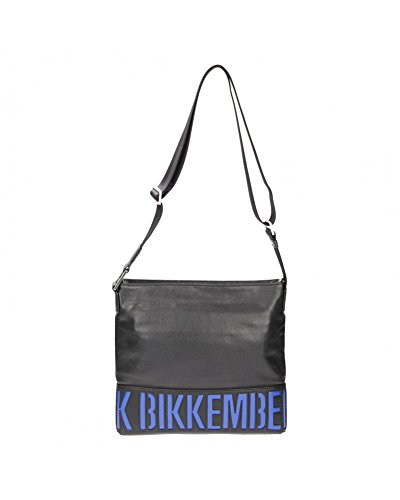 bikkembergs-bolso-dirk-bikkembergs-piel-grande-taglia-unica-nero