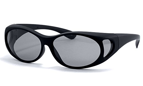 b26d5f6d4d LensCovers Sunglasses - Wear Over Prescription Glasses. Size Small with  Polarization.