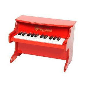 Schoenhut 25-Key My First Piano II, Red (Tabletop Piano compare prices)