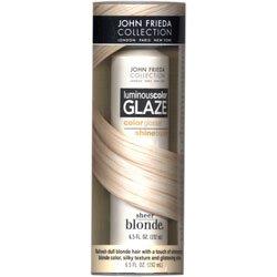 John Frieda Sheer Blonde Luminous Color Glaze - Platinum to Champagne 6.5 oz