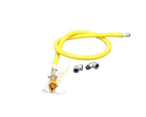 T&S Brass HG-4C-60 Gas Hose with Quick Disconnect