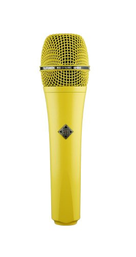 Telefunken M80 | Solid Color Finish Dynamic Series Cardioid Microphone (Yellow)