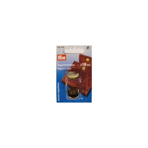 PRYM 416481 Magnetic snap Size 19mm gold-coloured, 1 piece nokia 515 light gold
