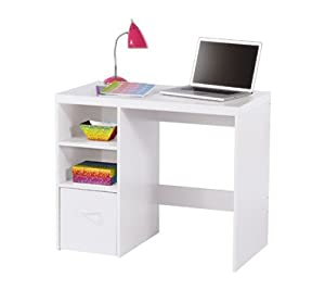 Officemax Leslie Desk White Omo3737 by OfficeMax