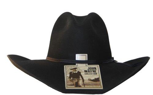 6b94b34f38be7 John Wayne Men s 4X Wool Peacemaker Cowboy Hat Stone 7 3 8