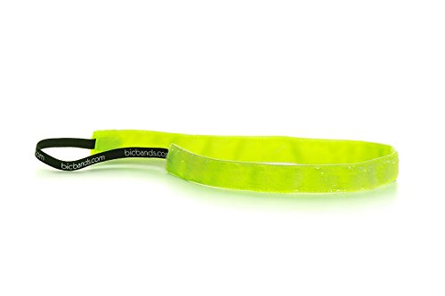 bic-bands-womens-non-slip-skinny-headband-standard-20-frost-neon-liquid-lime