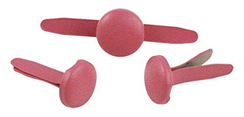 Rayher - 7939316 - tachuelas, redondo, diámetro 8 mm, diseño 60 pcs, Rosa