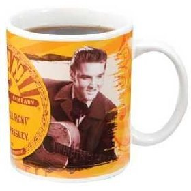 Elvis Presley Sun Records 12 Ounce Coffee Mug