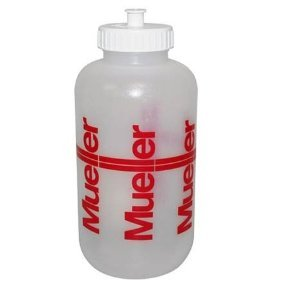 Mueller Sports Medicine Squeeze Quart Water Bottle-Baseball-Football-Soccer