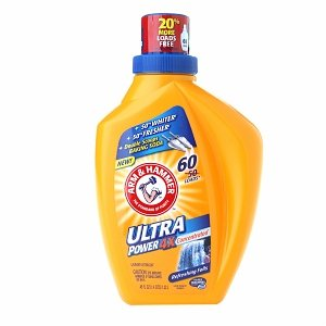Arm & Hammer 4x Liquid Laundry, Ultra Power Refreshing Falls, 45 Fluid Ounce (033200091684)