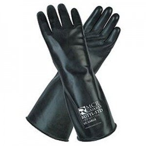 Butyl Smooth Finish Gloves