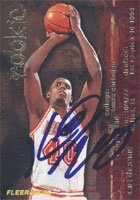 Kurt Thomas Miami Heat 1996 Fleer Autographed Hand Signed Trading Card - Nice Card. by Hall+of+Fame+Memorabilia