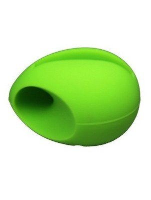 Noarks ® Silicone Audio Dock Amplifier Music Speaker For Iphone 5 5S (Green Egg)