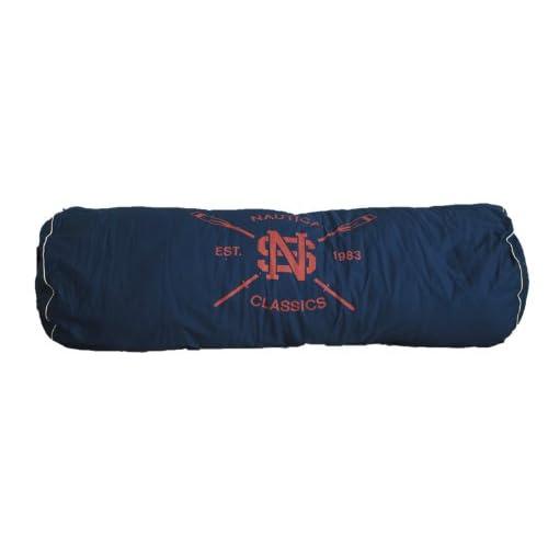 Amazon.com - Nautica Classics Body Bolster Pillow Blue - Throw Pillows
