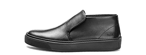 FRAU SLIP ON UOMO IN PELLE [20M9 NERO] - 42, NERO