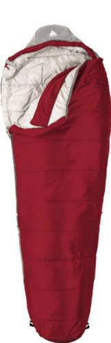 Kelty Cosmic 0 Degree Synthetic Sleeping Bag, Long, Solid Red