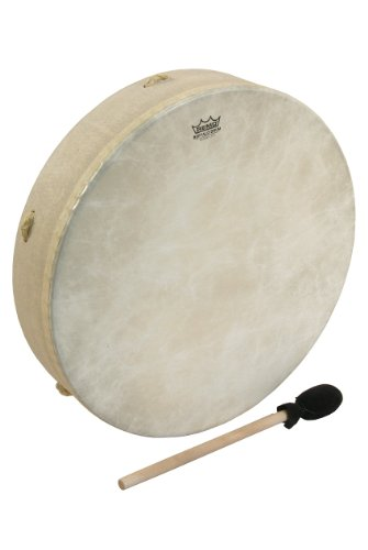 "Remo Drum, Buffalo, 16"" Diameter, 3.5"" Depth, Standard"