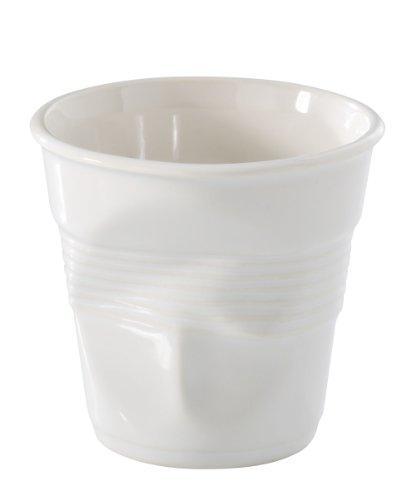 Espresso Crumple Cup White