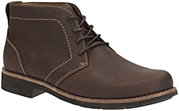 Clarks Mens Casual Meldon Top Nubuck Boots In Brown