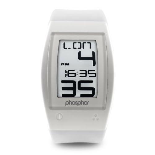 Phosphor フォスファー Men's WP002 World Time デジタルウォッチ 男性用 メンズ 腕時計 (並行輸入)