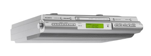 Sony ICFCDK50 Under Cabinet Kitchen CD Clock Radio