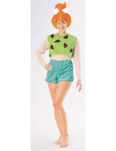 Adult-Costume Flintstones Pebbles Halloween Costume - Most Adults