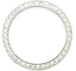 EWP Ladies Bead Set Diamond Bezel for Rolex Datejust Watch
