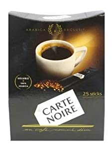 Carte Noire Instant Coffee Sticks (25 Packets)