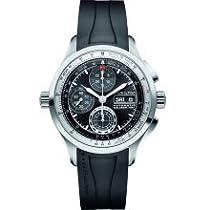 Hamilton Khaki X-Patrol Automatic Chronograph Black Dial Black Rubber Mens Watch H76556331