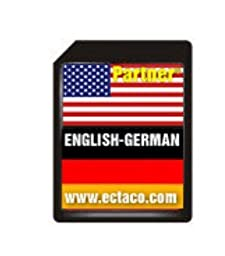 Ectaco 850SD Egm SD Card English-German EGm850