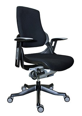 Eurotech - Office Chair, Mid Back Wau Mid Black - Color: Black