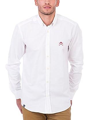 Polo Club Camisa Hombre Academy Cro Oxford (Blanco)