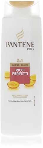 Shampoo Pantene Pro-V 2 in 1 Ricci Perfetti, 250 ml