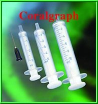SET OF 3 10ML SYRINGE FOR CARTRIDGE CISS CIS REFILL OIL GLUE GREASE