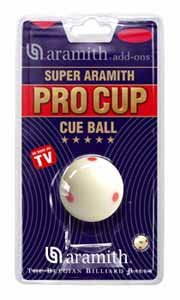 Aramith Super Pro Cup Pool Cue Ball