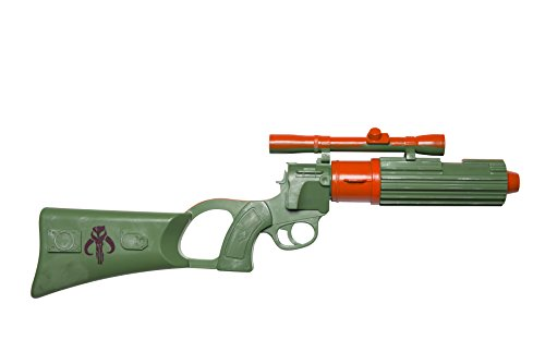 Rubie's Costume Co Men's Star Wars Classic Boba Fett Blaster, Multi, One Size