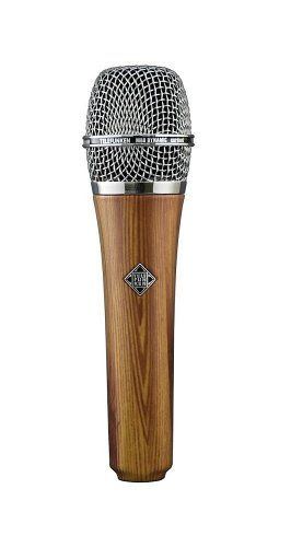 New Telefunken | High-Quality Hand-Held Cardioid Microphone Custom Finish Dynamic Series, M80 With Wider Frequency Response And Higher-Than-Normal Spl Capabilities (Oak)