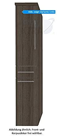 In Crescendo (HNA053 A7WL/R) Bathroom Furniture Tall 30 cm