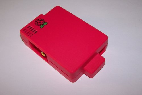 Cyntech Case With Sd Cover For Raspberry Pi - Red