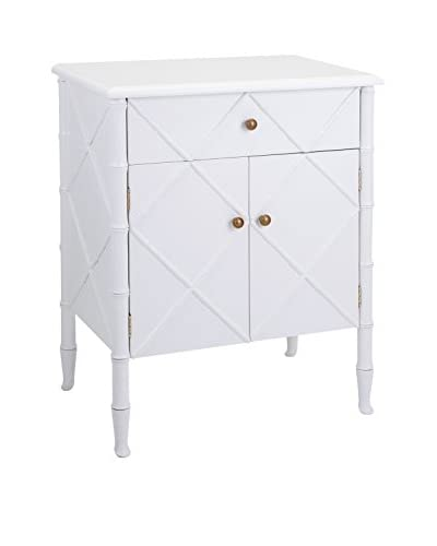 The Palms 2-Door Cabinet, White