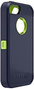 OtterBox Defender Series Case for iPhone 5 (Discontinued by Manufacturer) - Blue/Lime Green