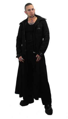 Burberry Quilted Hood Trench Coat in Black for Men - Lyst   Mens Trench Coat With Hood