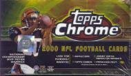 2000 Topps Chrome Football Cards Unopened Hobby box by Topps