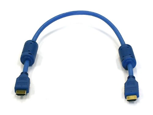 Lgp Premium 1.5ft 0.5m Ultra-high Speed Hdmi Cable - 120 Hz - Version 1.3 Category 2 - 1080p - Ps3 - Blu-ray - Xbox360 - Blue Color