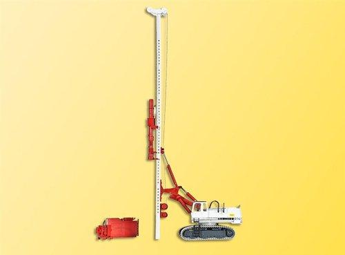 viessmann-11253-escavatore-liebherr-974-con-battipalo-e-tiretto